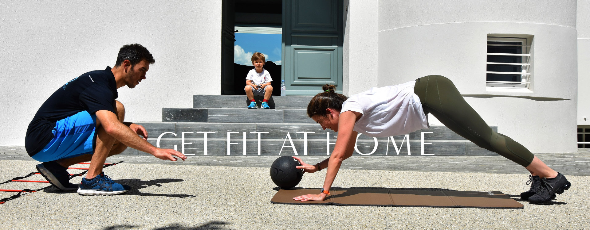 Get fit at home