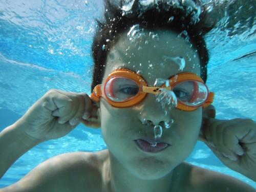 Comment apprendre à nager chez soi